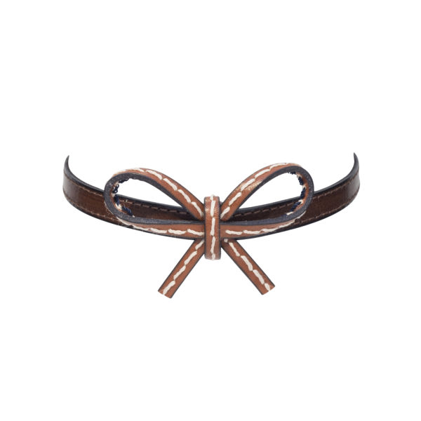 Royal Mini Choker in Brown