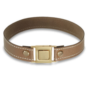 Cultured choker in camel beige