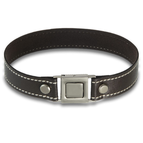 Culture choker in brown