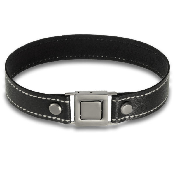 Cultured choker in black